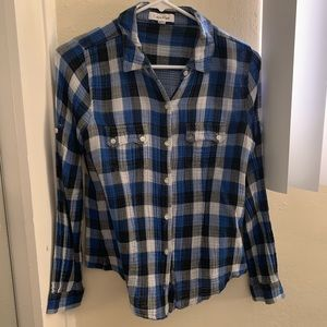 Calvin Klein Flannel Top